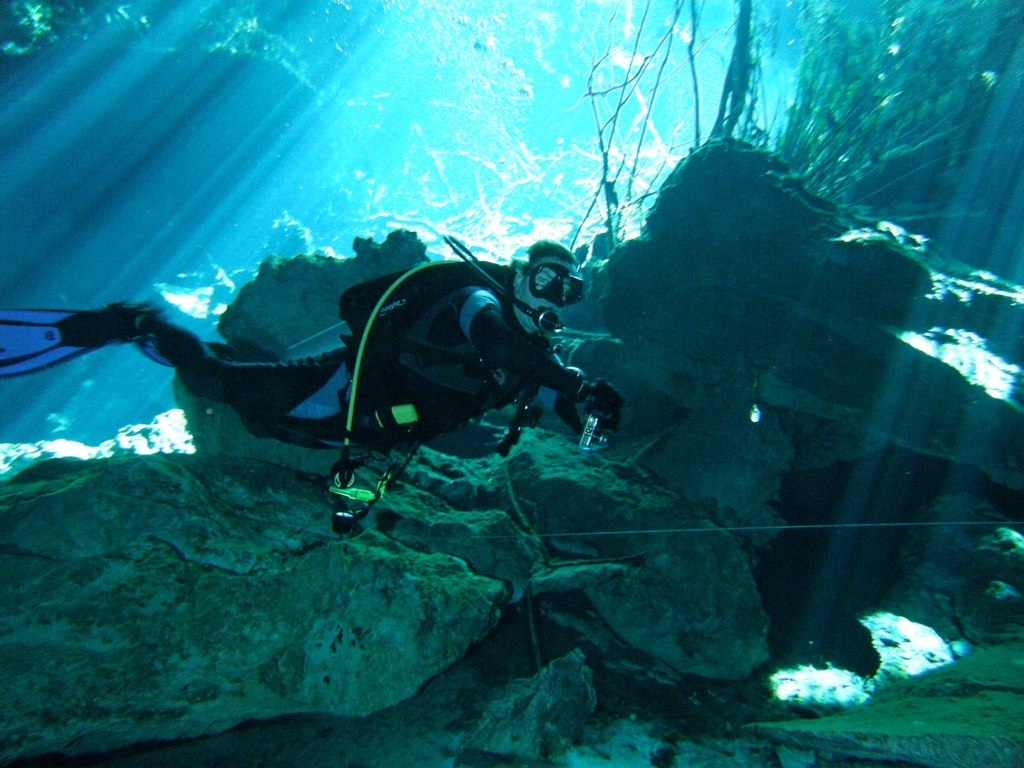 Diving the cenotes of Mexico