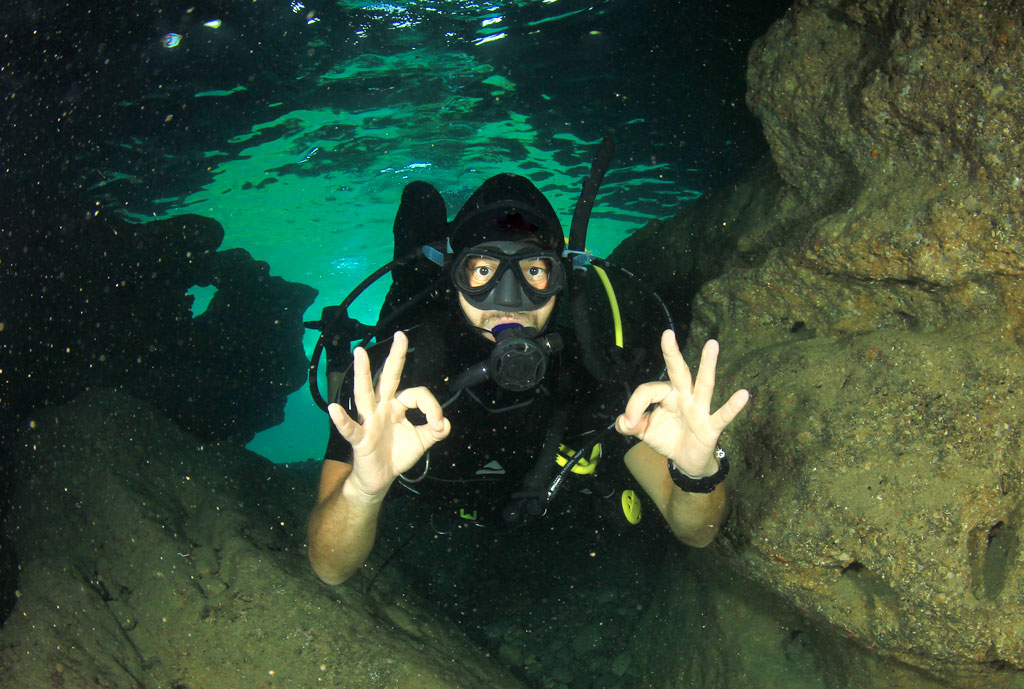 Fresh water diving in Germany